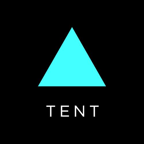 شعار Tent- مثلث