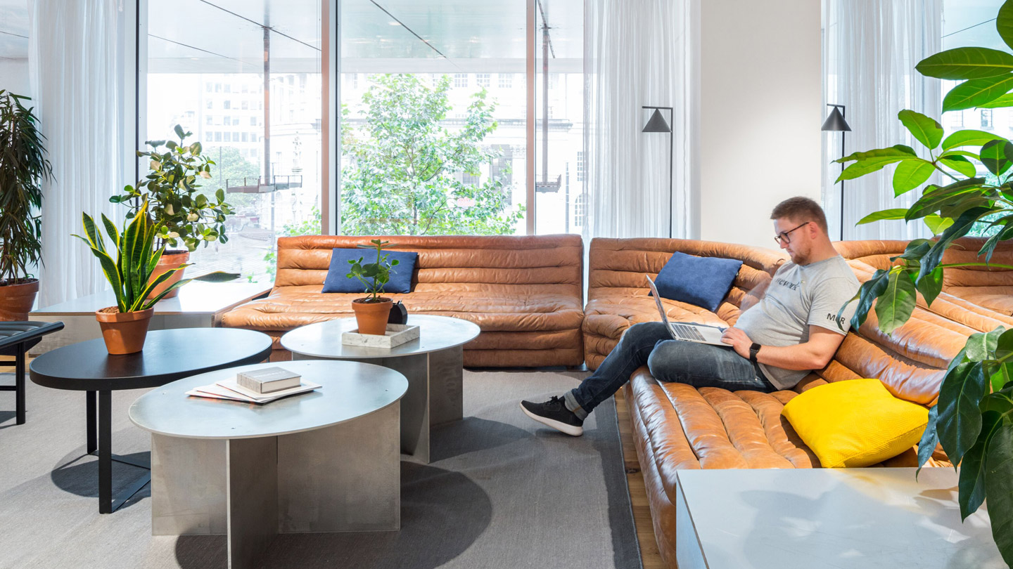 Coworking WeWork One St Peter's Square