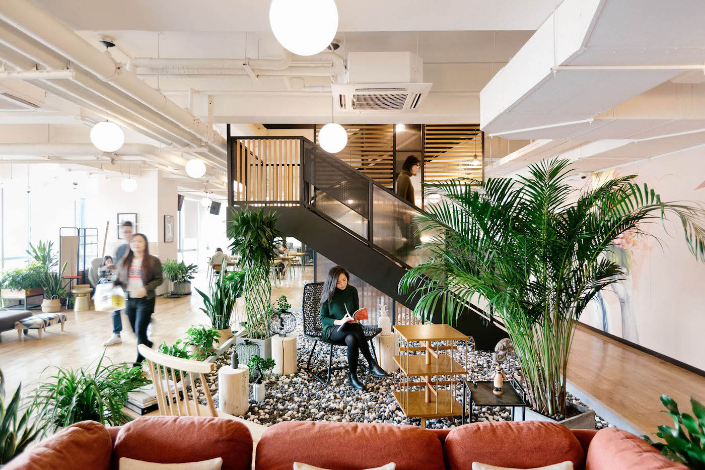 WeWork Ciyunsi in Beijing, China. Photograph by The We Company