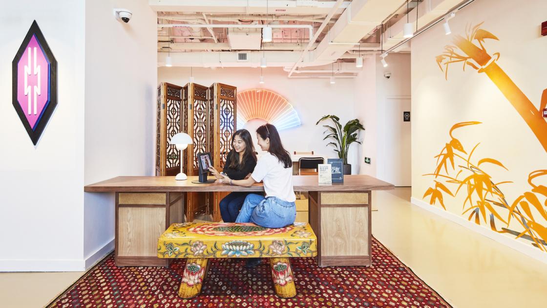 Sembilan Karya Seni Wework Yang Mencerminkan Budaya Lokal Ideas