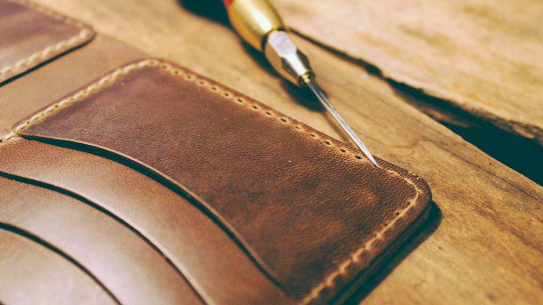 guarded goods leather wallet