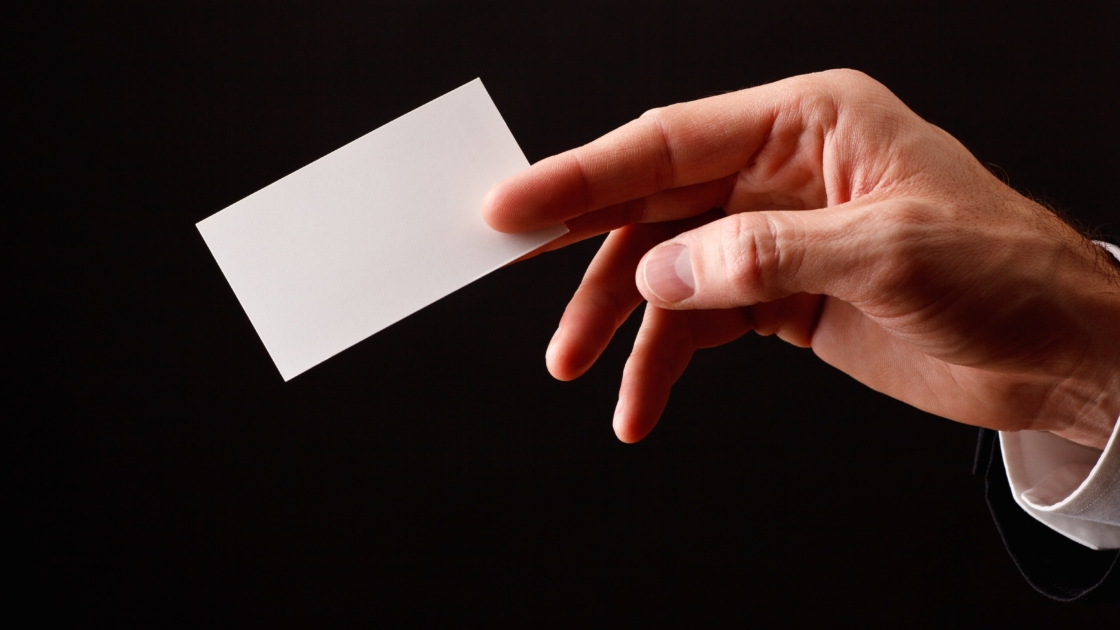 Deal Me In: Study on Business Cards Shows How Business Relationships Develop