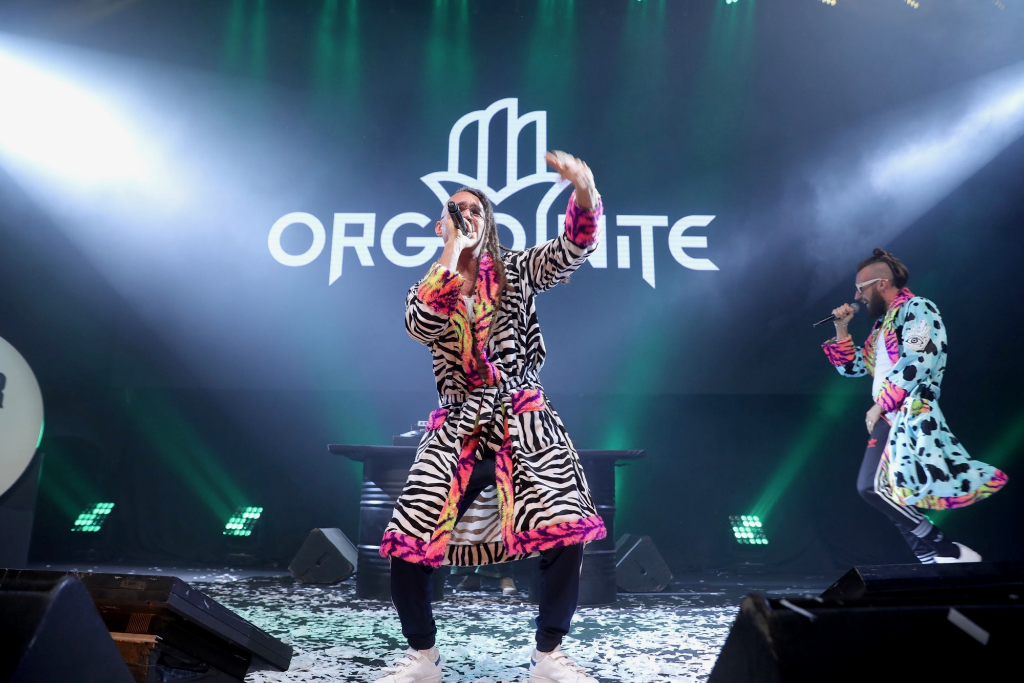 Rap rave group performs at Tel Aviv Creator Awards put on by WeWork