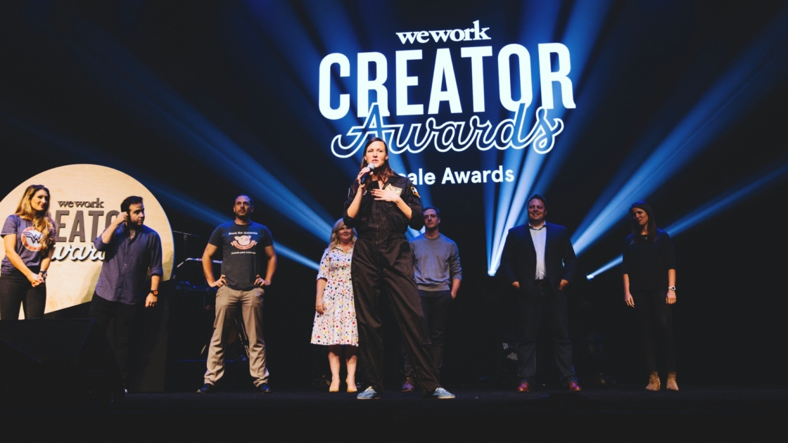 WeWork Creator Awards winner re-3d