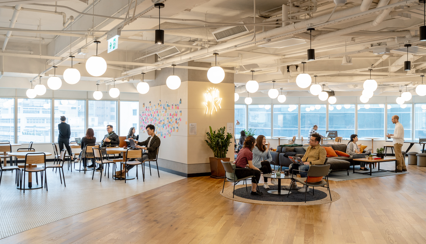 Standard Chartered's eXellerator Lab in Hong Kong. Photographs by Seth Powers