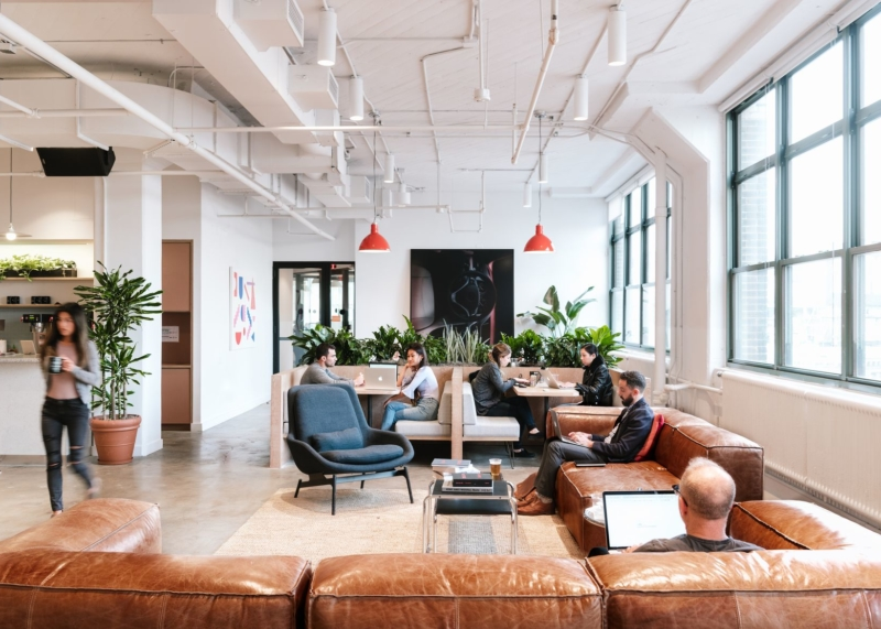 How WeWork office suites compare to commercial offices