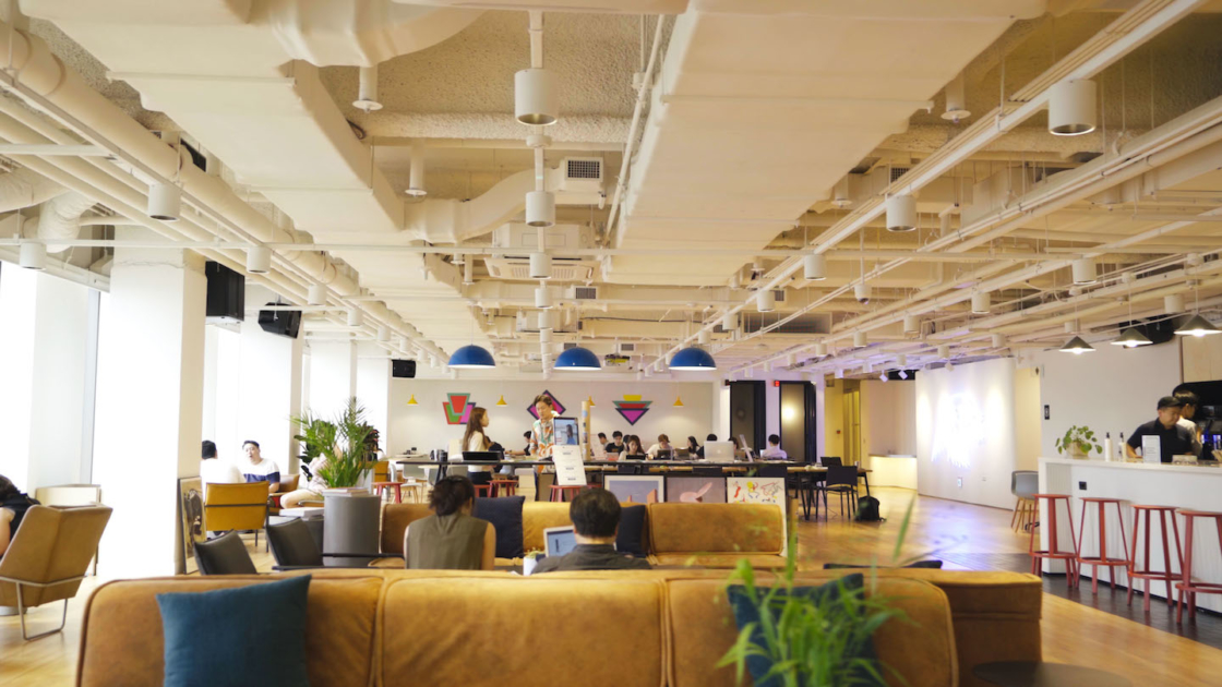 GE Healthcare Korea's WeWork office in Seoul, South Korea. Photography by The We Company