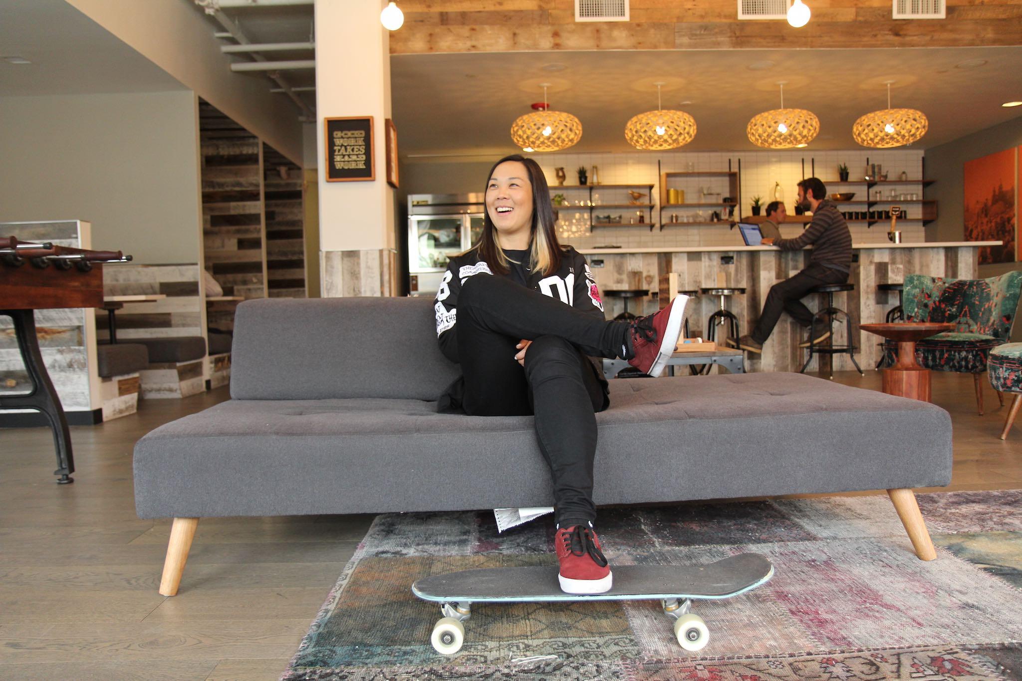 Action Sports Lover Kim Woozy Captures Women 'Literally Taking Flight'3