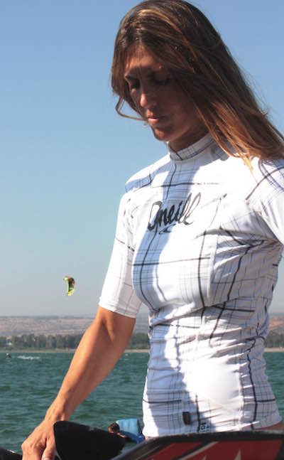 Competing Globally Takes Kite Surfer Hagit Oz to New Heights2