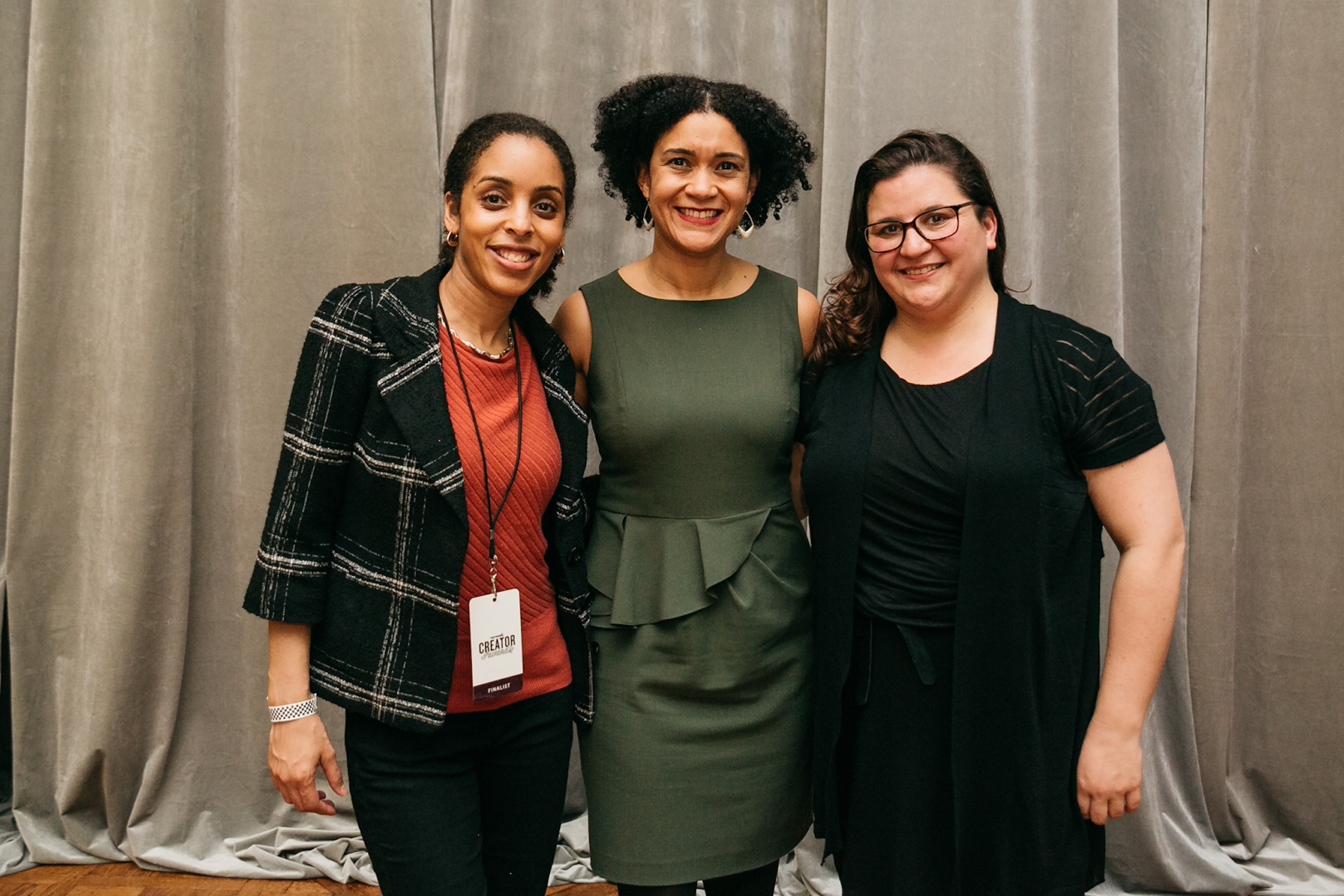 Kellee James of Mercaris, Elizabeth Lindsey of Byte Back, and Cristi Hegranes of Global Press Institute took home the top prizes at the Creator Awards.