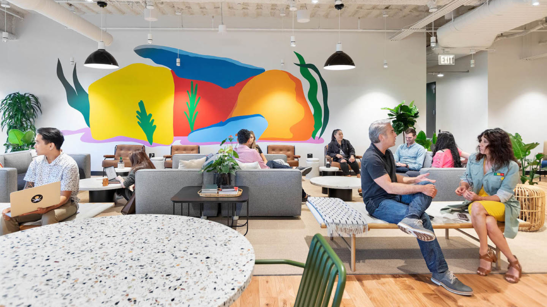 How innovative companies use office space to reach customers