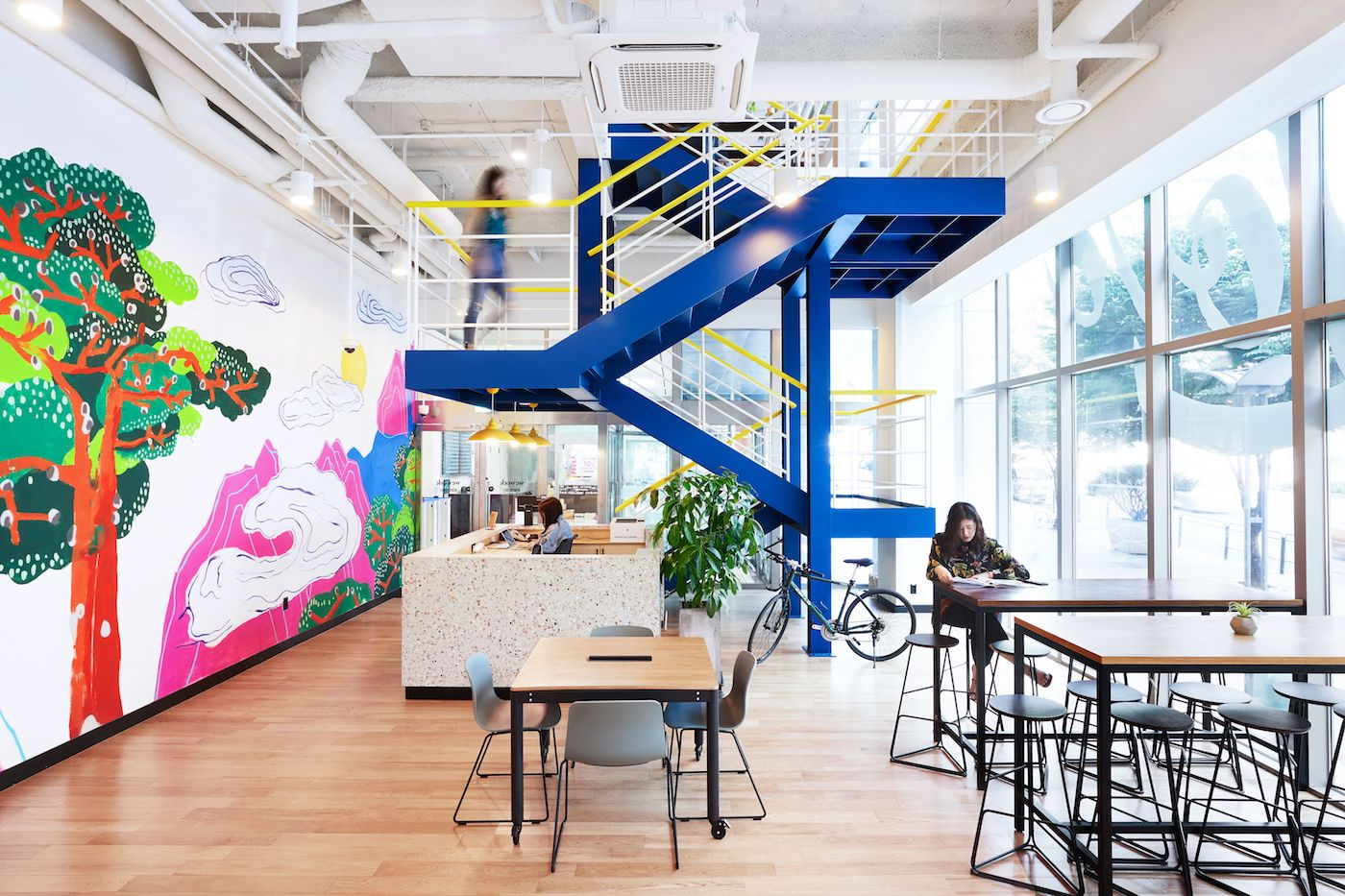 WeWork Seolleung in Seoul, South Korea. Photographs by The We Company