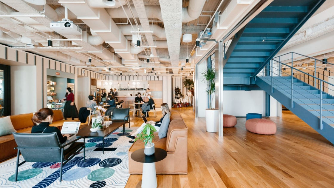 WeWork at Arc Hills South in Tokyo, Japan. Photograph by Kevin Kaminski/The We Company