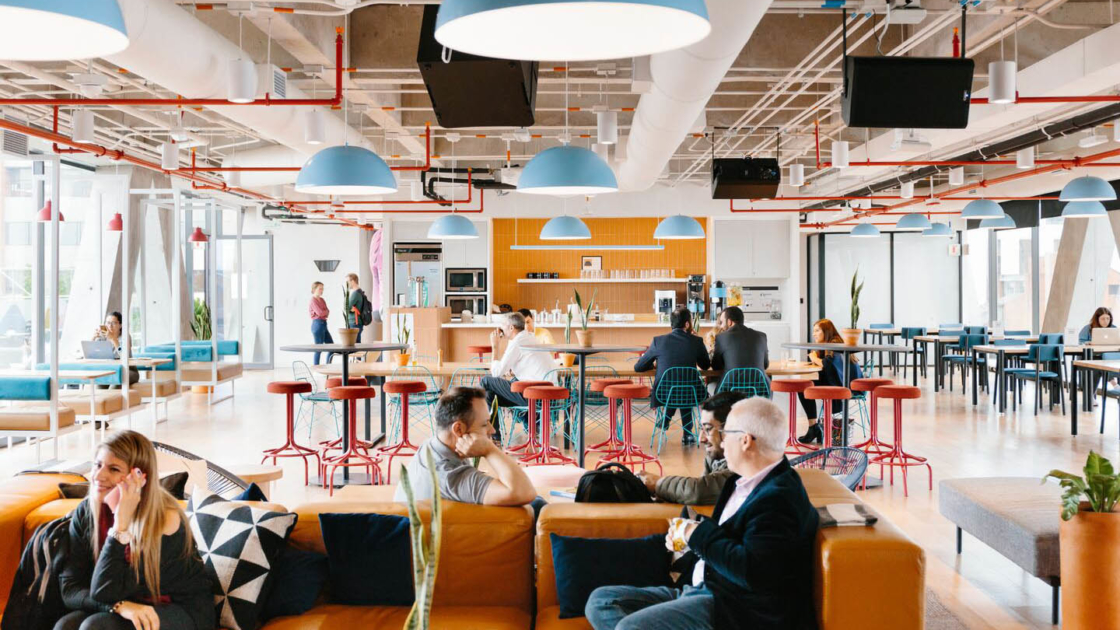 WeWork Calle 81 #11-08 in Bogota, Colombia. Photograph by The We Company