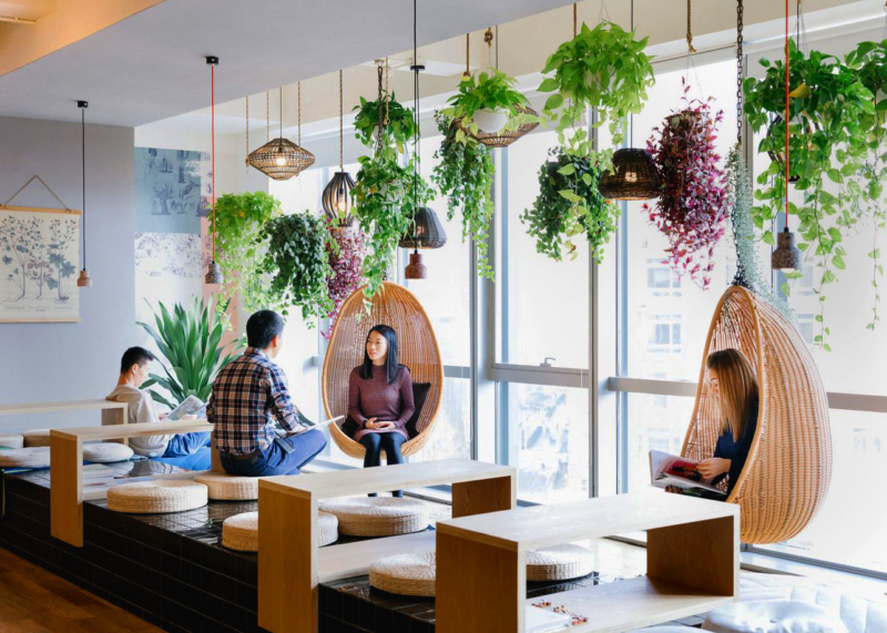 WeWork Ciyunsi in Beijing. Photograph courtesy of The We Company