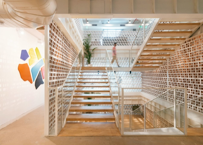 10 Stunning Staircases In Wework Locations Around The