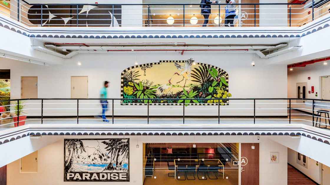 WeWork\'s new India HQ blends office design with local ...
