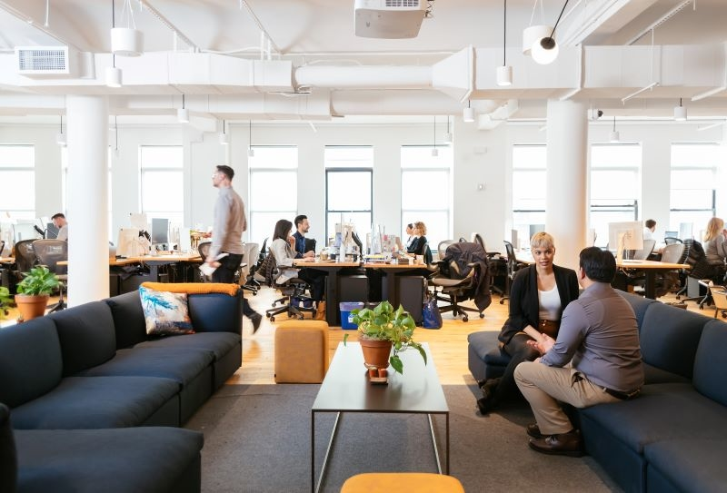 Slack's New York office.