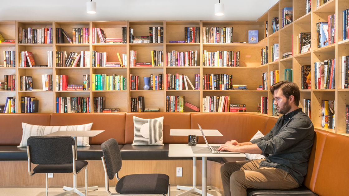 WeWork Pacific Design Center in Los Angeles. Photograph by WeWork