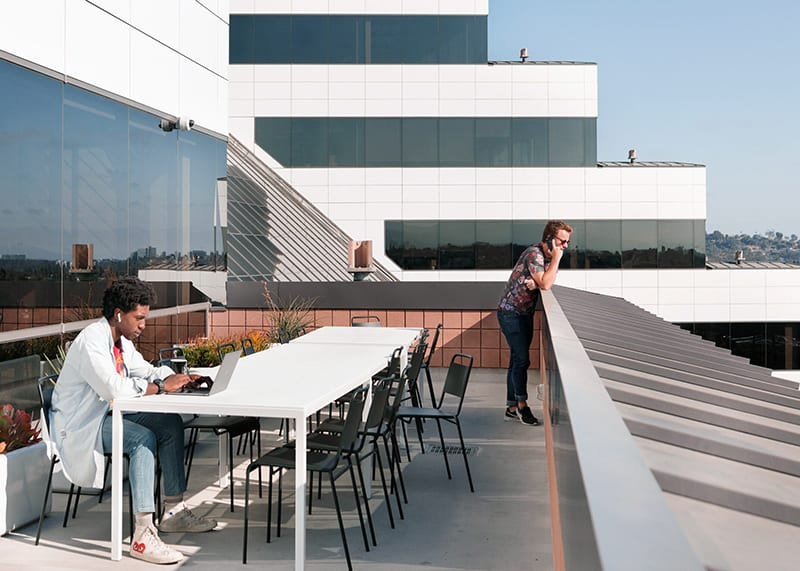 WeWork coworking space in Los Angeles at One Culver in Culver City