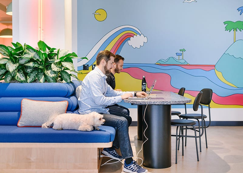WeWork coworking space in Los Angeles at 222 Pacific Coast Hwy in El Segundo