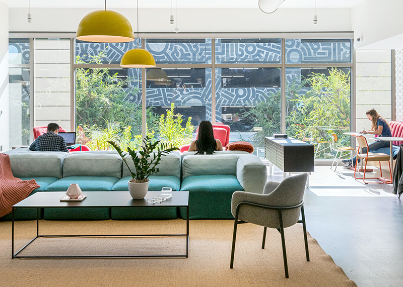WeWork coworking space in Los Angeles at 12130 Millennium Dr in Playa Vista