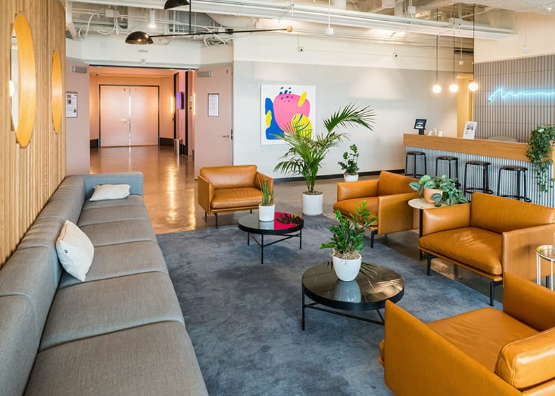 WeWork coworking space in Los Angeles at Constellation Place in Century City