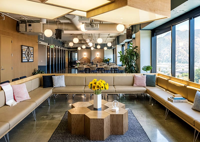 WeWork coworking space in Los Angeles at The Tower in Burbank