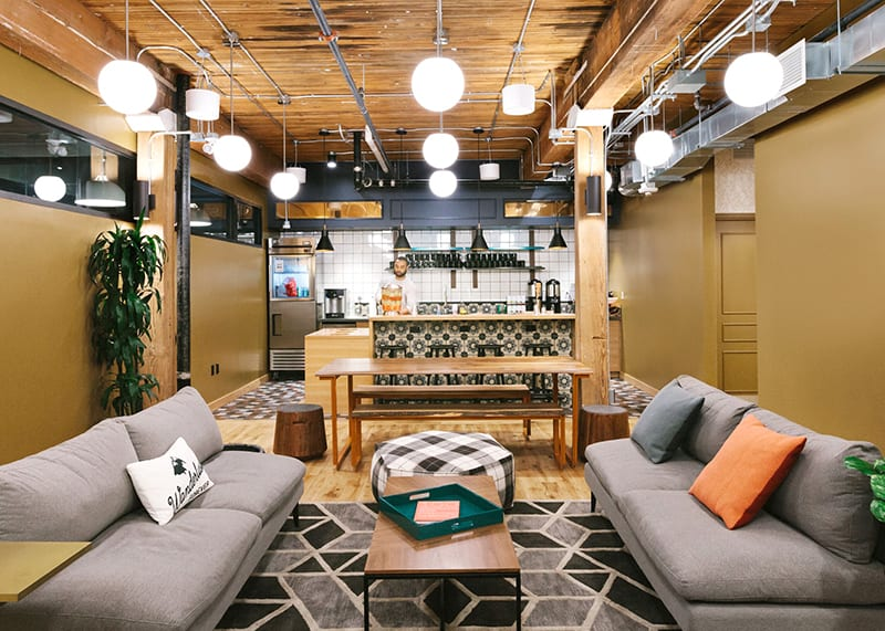 WeWork coworking space in Toronto on 240 Richmond St W in Old Toronto