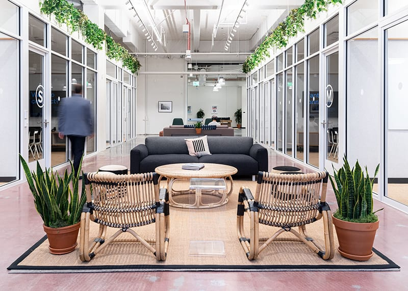WeWork coworking space in San Francisco on 1460 Mission St in Mid-Market