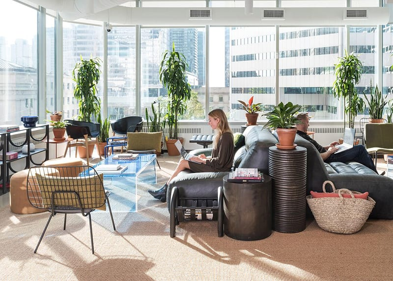WeWork coworking space in Toronto on 1 University Ave in Old Toronto